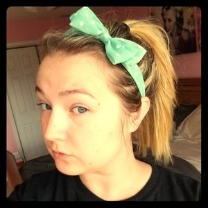 NWOT Mint Green Headband